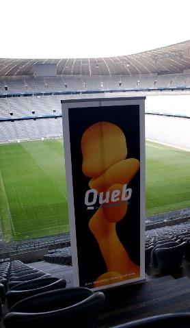 Queb in der Allianz Arena, München