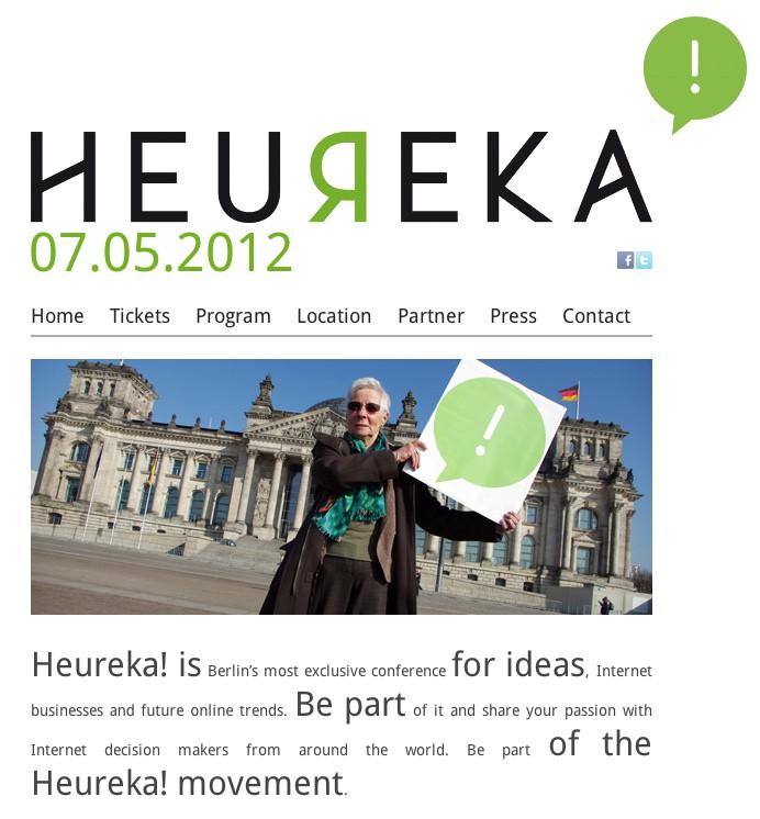 heureka conference von gründerszene