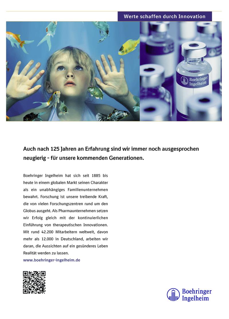 Boehringer Ingelheim Anzeige aus studybloxx