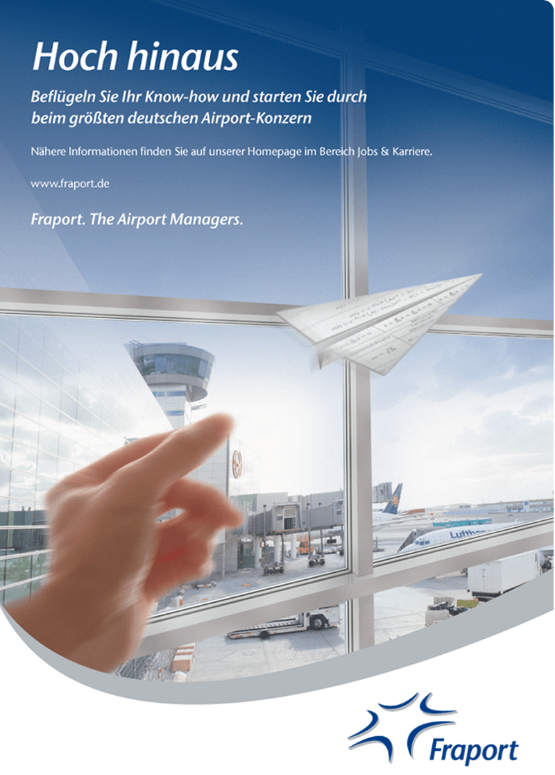Fraport Anzeige aus studybloxx