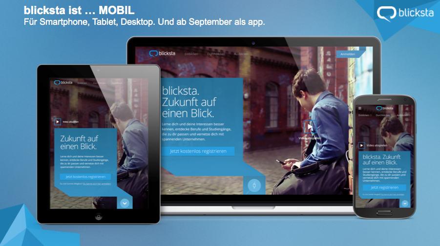 Azubi- und Schülermarketing neu gedacht: blicksta ist da – individuell, mobil, zeitraumbezogen