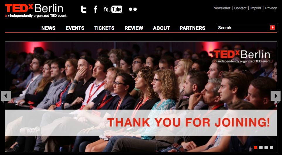 TEDx Berlin weclome