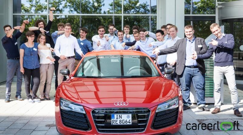 Audi und careerloft titelbild