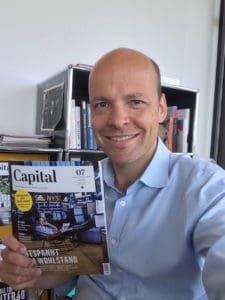 Capital Chefredakteur Horst von Buttlar