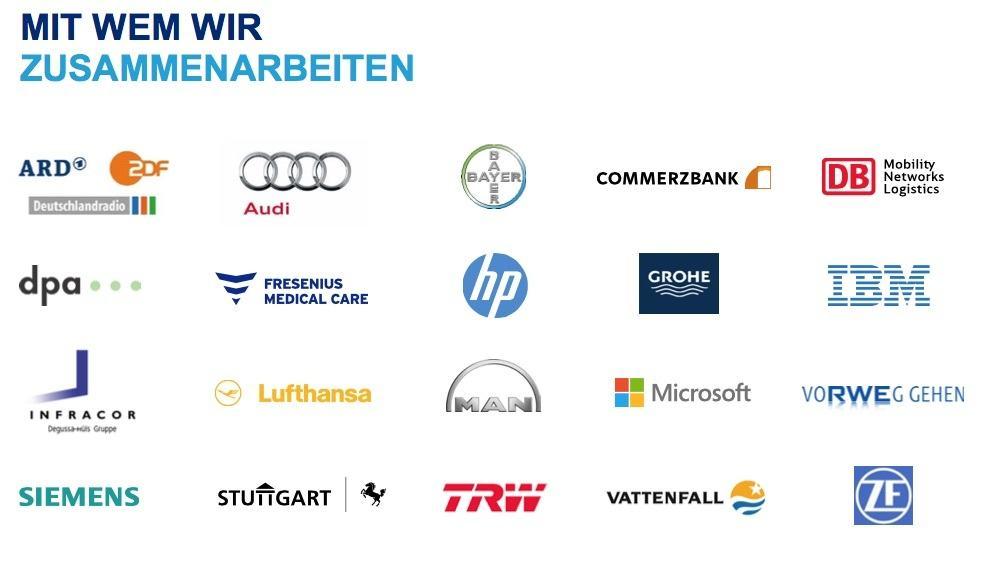 Hays: Kunden in Deutschland.
