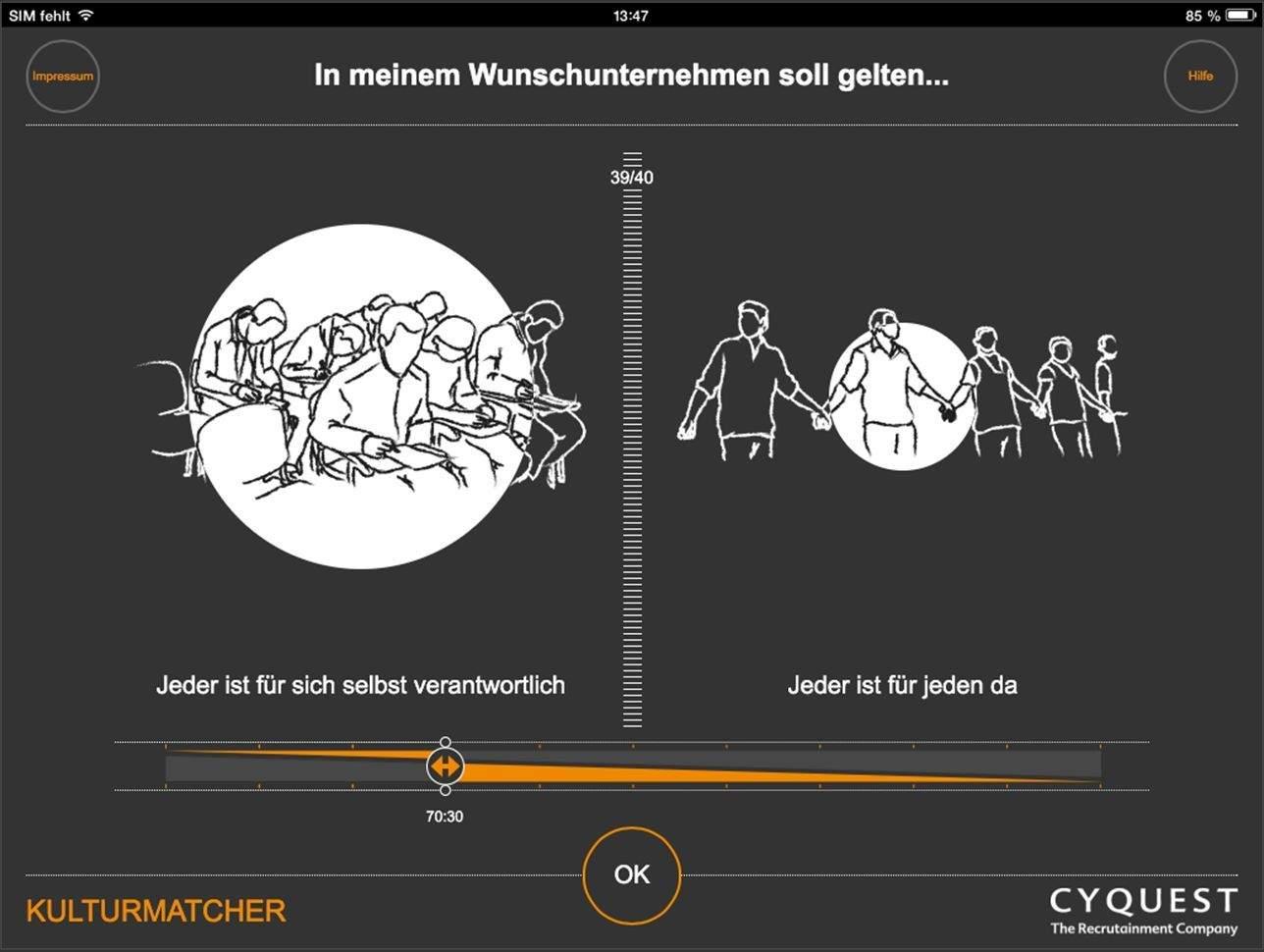 Items im Kulturmatcher - Beispiel 2.
