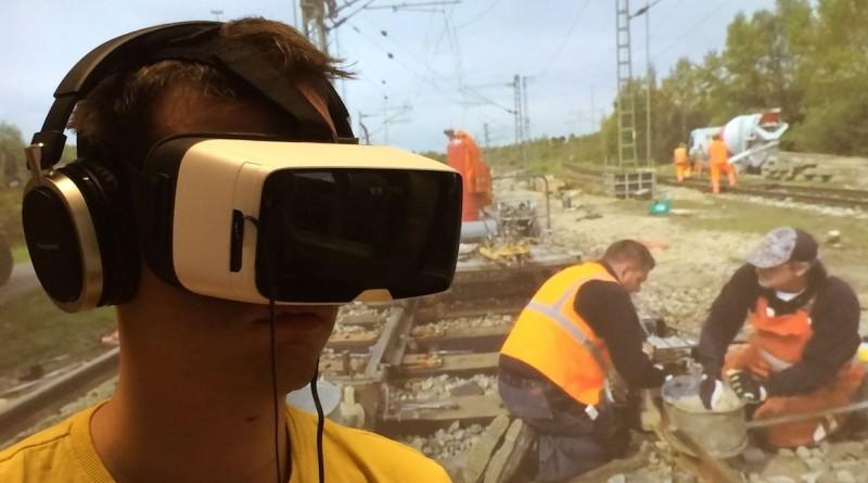 Virtual Reality im Einsatz beim Personalmarketing der Deutschen Bahn.