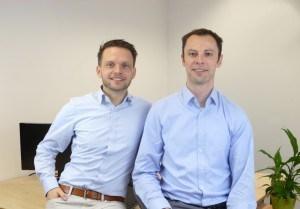 Die Gründer von Cayero: Markus Kriesch und André Wehr.