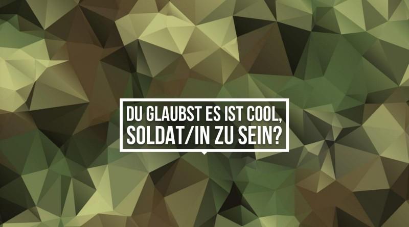 Die Bundeswehr Personalmarketing Gegenkampagne www.machwaszaehlt.de