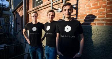 Das Team von Talentcube von links nach rechts Sebastian Niewöhner, Hendrik Seiler, Sebastian Hust.