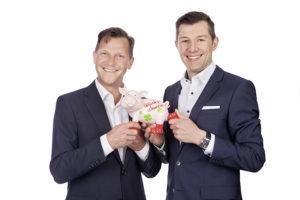 Martin Niels-Däfler und Ralph Dannhäuser.