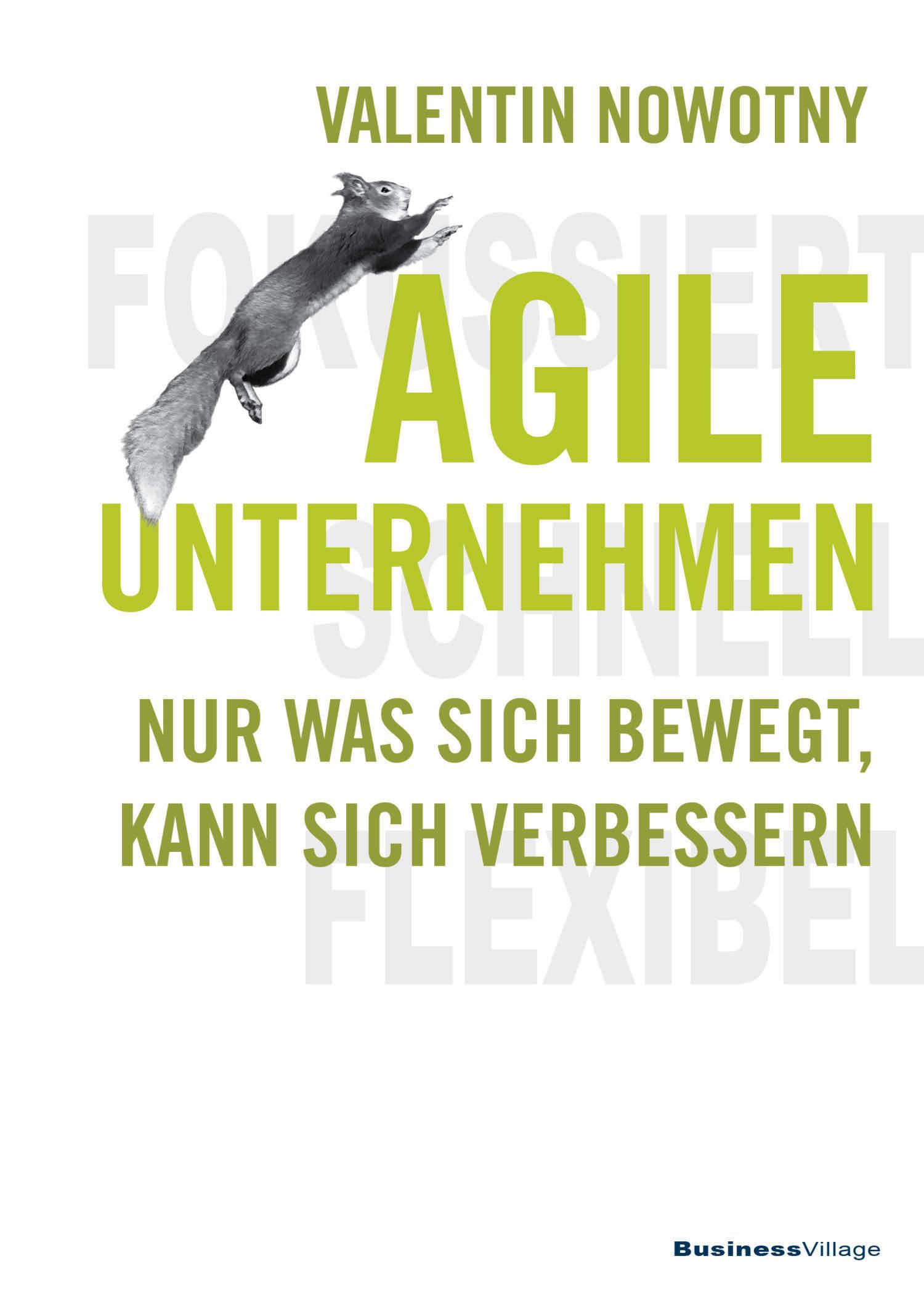 "Buchcover ""Agile Unternehmen"""