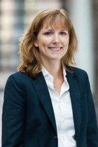 Carolin Hockenholz vom Hochschulmarketing bei Rohde & Schwarz