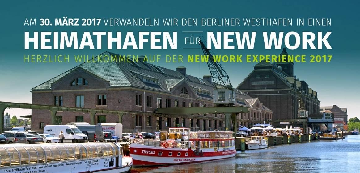 Der New Work Award 2017 wird im Rahmen der New Work Experience vergeben.