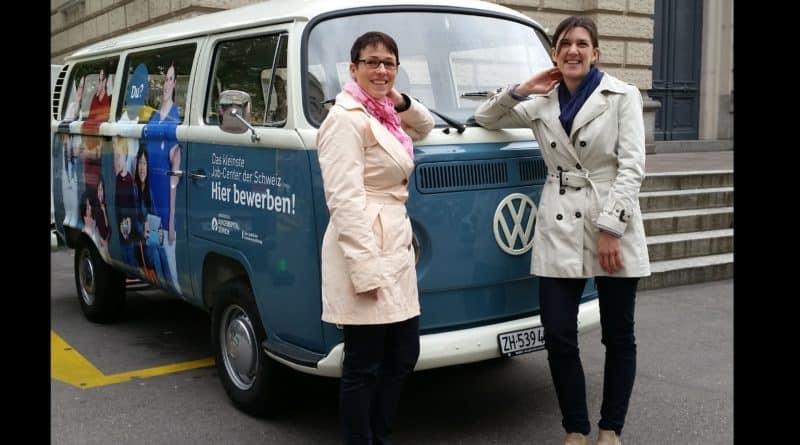 Sonja Auf der Maur und Desirée Nater vom Kinderspital Zürich zum Thema Personalmarketing.