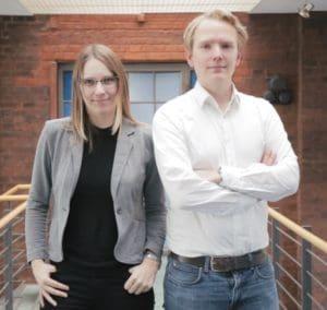 Lena und Felix von Ausbildung.de