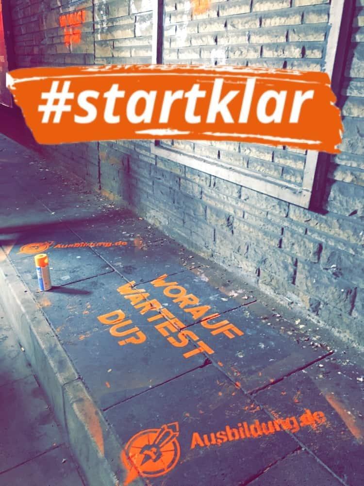 Ausbildung.de macht Schüler #startklar