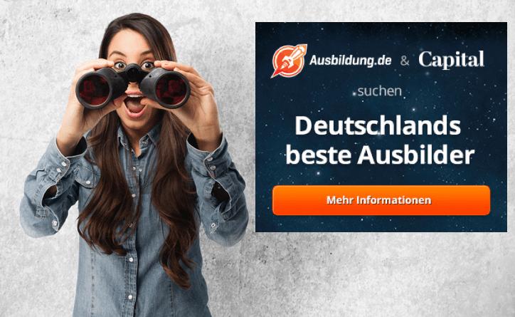 apital und Ausbildung.de suchen Deutschlands beste Ausbilder Bildquelle Shutterstock.com