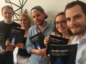 Das Azubi Report Team von Ausbildung.de