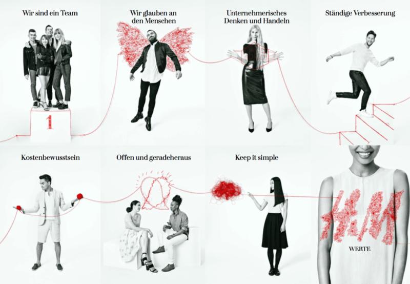 Werte bei H&M