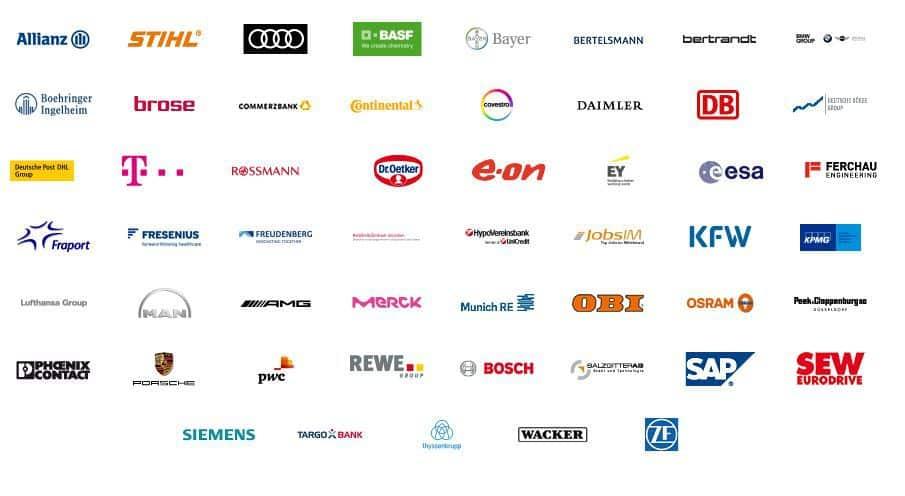 Die Jobstairs Partnerunternehmen heute