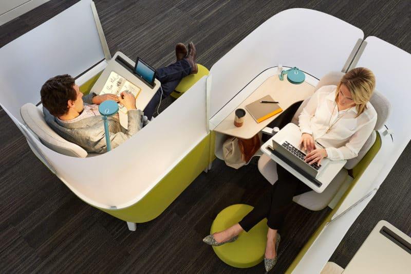 Arbeitswelt der Zukunft - die Brody Work Lounge 2017