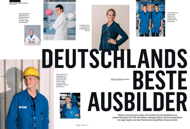 Deutschlands beste Ausbilder in der Capital