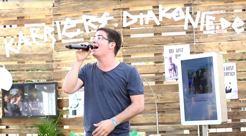 Maxim Noise rockt den Kirchentag - Employer Branding für die Diakonie Deutschland
