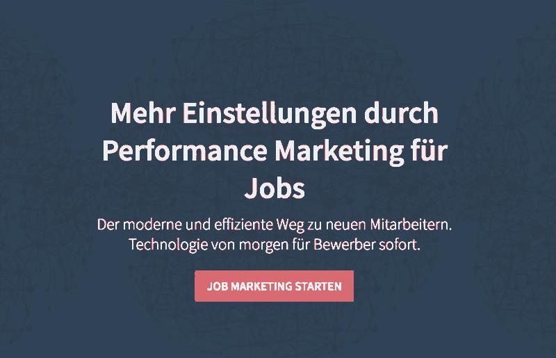Hey Jobs Startseite
