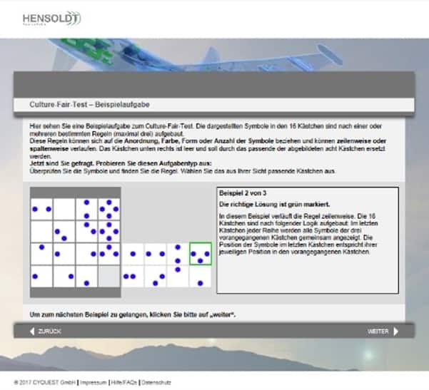 Online-Assessments - der Quali-Matcher von Hensoldt