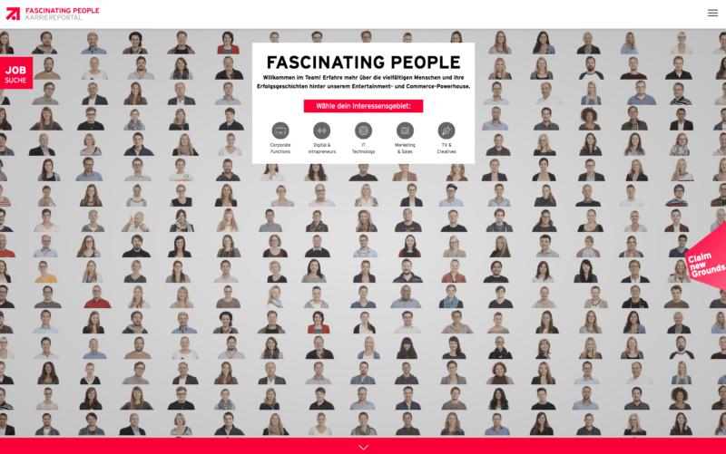Employer Branding bei ProSiebenSat.1_Karriereseite