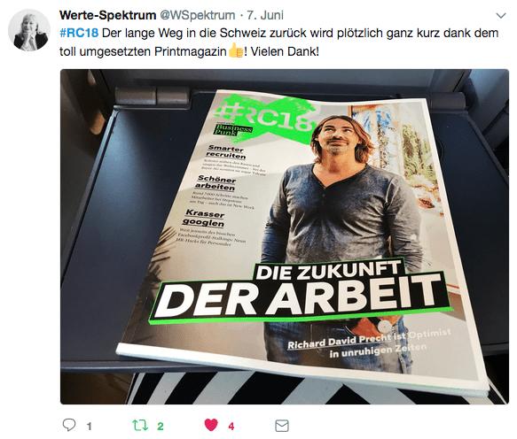 Das #RC18 Print Magazin