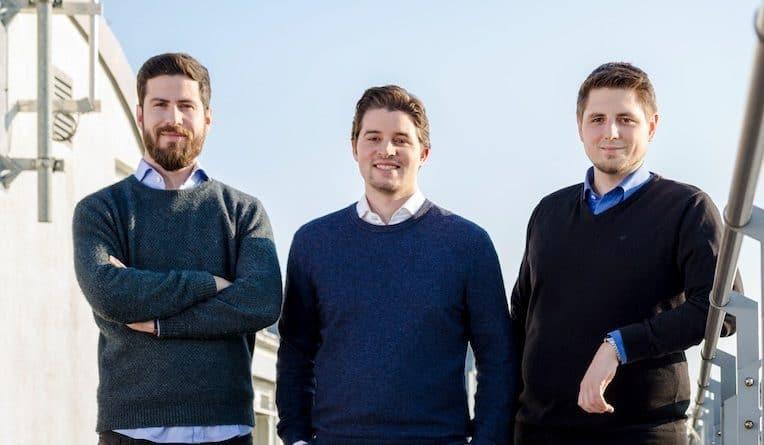 Das Talentry Founder Team Lionel von Dobeneck, Carl Hoffmann, Michael Blazek