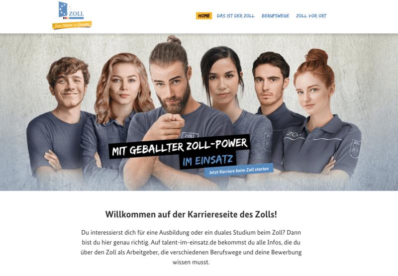 Employer Branding beim deutschen Zoll