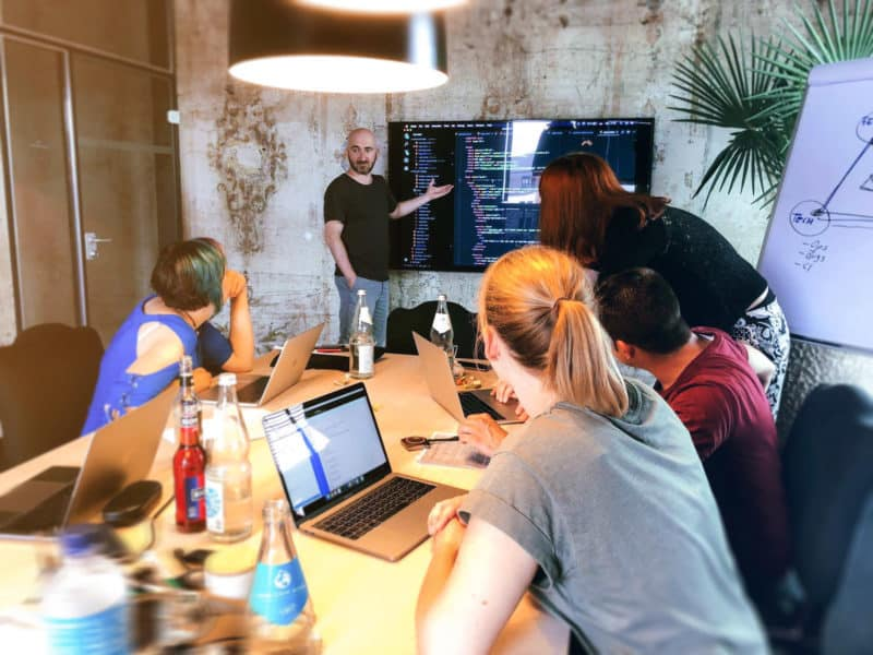 Das neue fische Entwickler Bootcamp
