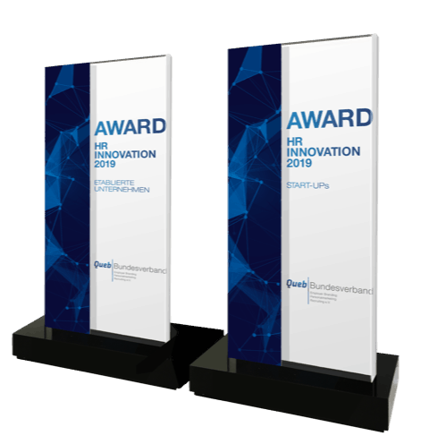 Der QUEB Award wird 2019 zwei Mal vergeben