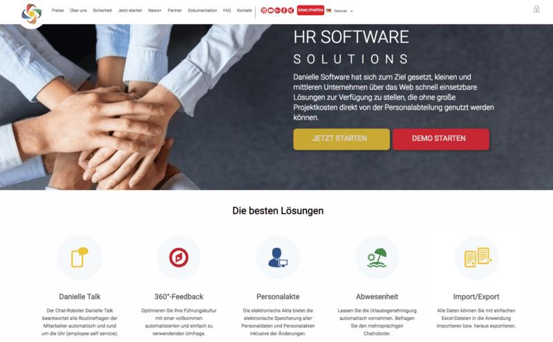 Danielle Software Website