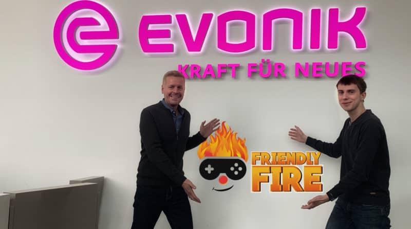 Daniel Berndt und Luis Koesling vom Employer Branding bei Evonik