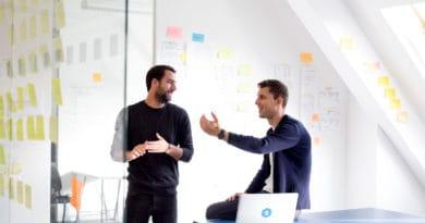 Die Studydrive Gründer Sven Gasper und Philipp Mackeprang in Action