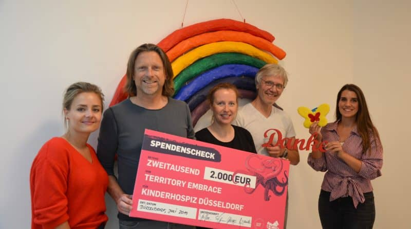 #RC19: 2.000 € Spende für Kinderhospiz Regenbogenland
