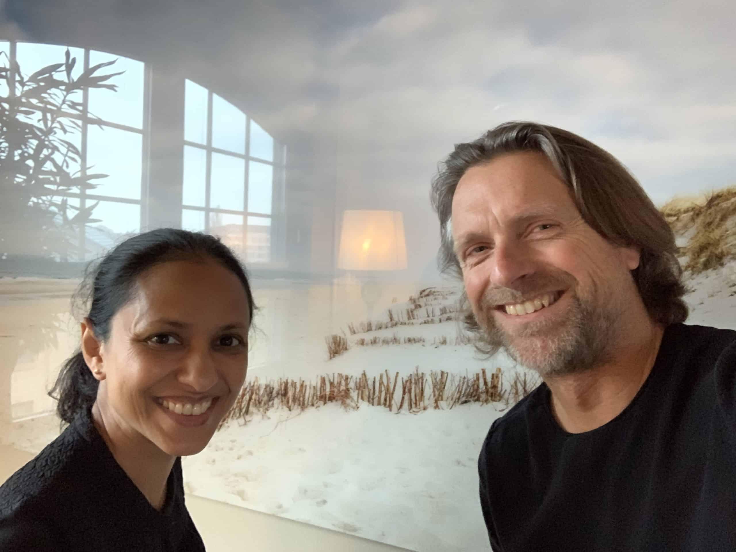 Wir nehmen jetzt nen Podcast auf: Dalia Das und saatkorn im Konfi Sylt