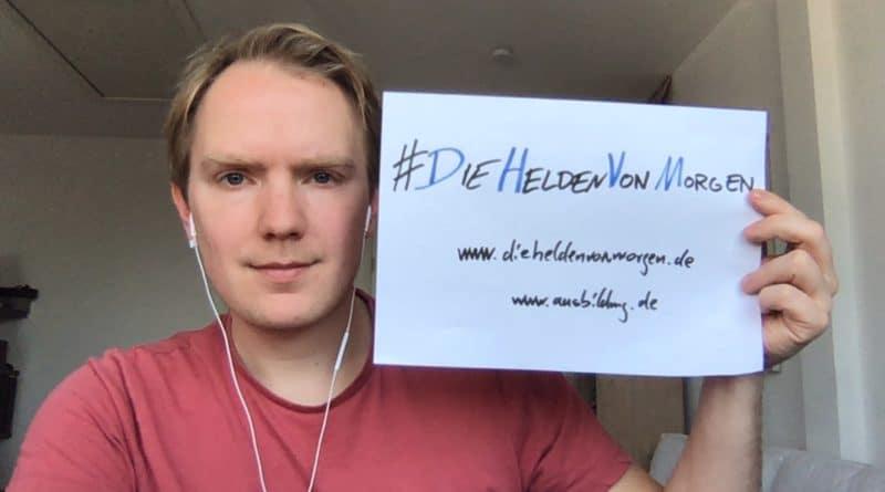 Felix von Zittwitz mit #DieHeldenVonMorgen