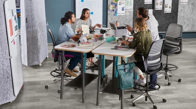 Arbeitsplatzgestaltung für modern arbeitende Teams