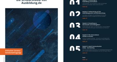 Ausbildung.de Schülerstudie 2020