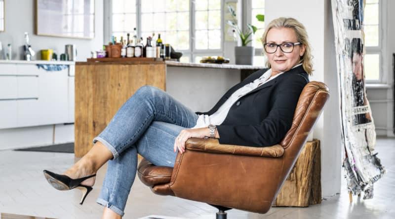 Frauke van Bevern von der Berliner Voksbank