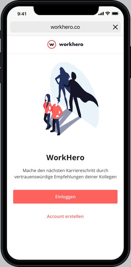 Firstbird launcht WorkHero - Screenshot