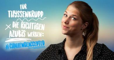 Laura Garbe auf SAATKORN zum thyssenkrupp Ausbildungsmarketing