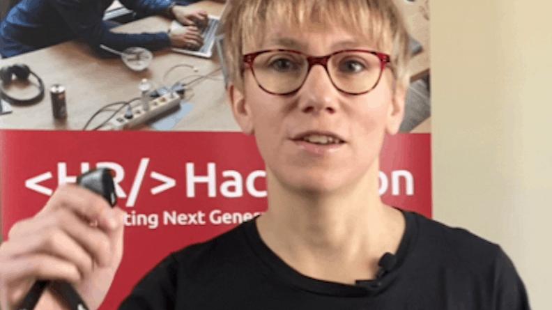 Eva Zils HR Hackathon 2020 SAATKORN