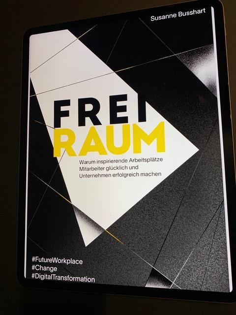 Freiraum - das neue Buch von Susanne Busshart hier auf SAATKORN zu gewinnen!