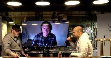 SAATKORN Founder Gero Hesse mit Michael Witt und Robindro Ullah am HR TEC NIGHT TRESEN